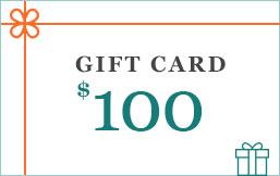 100 eGift Cards