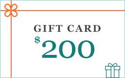 eGift Cards 200