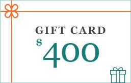$400 eGift Card